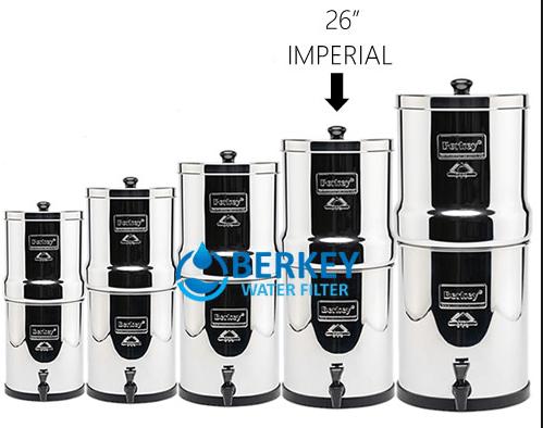 berkey imperial water filter comparison